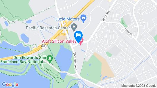 Aloft Silicon Valley Map