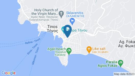 Byzantio City Hotel Map