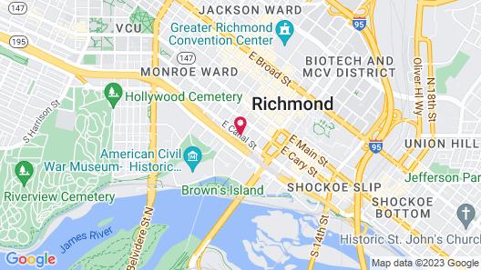 Delta Hotels by Marriott Richmond Downtown Map