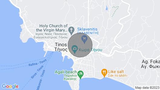 Okiroi Tinian Villas Sgalados Map