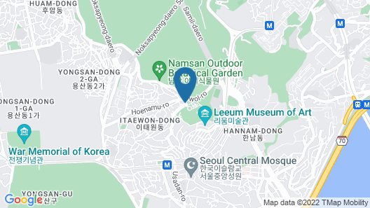 Grand Hyatt Seoul Map