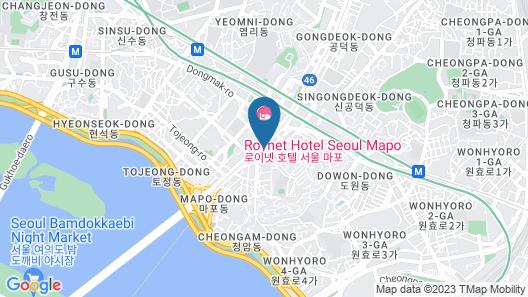 Seoul Garden Hotel Map