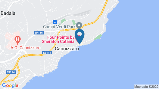 Four Points by Sheraton Catania Hotel & Conference Center Map