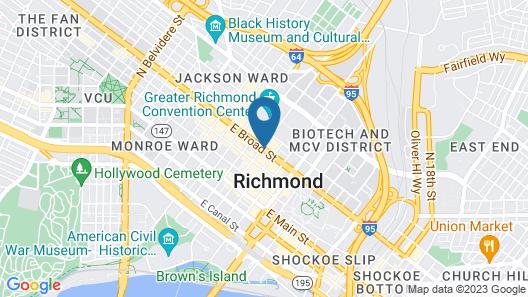 Richmond Marriott Map