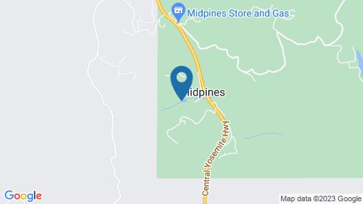 AutoCamp Yosemite Map
