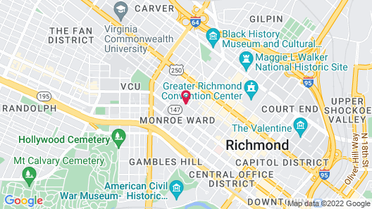 The Jefferson Hotel Map