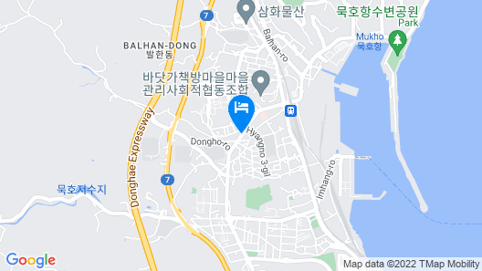 Hotel Yeogiuhtte Donghae Mukho Map