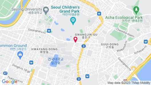 Hotel Star KD Map