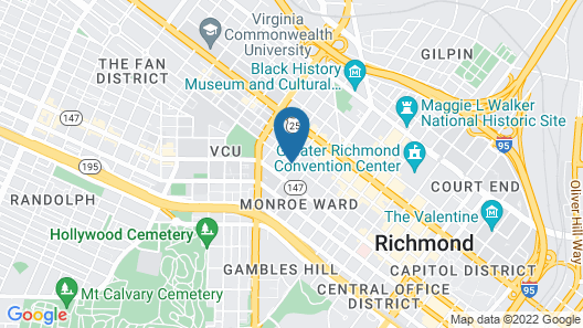 Graduate Richmond Map