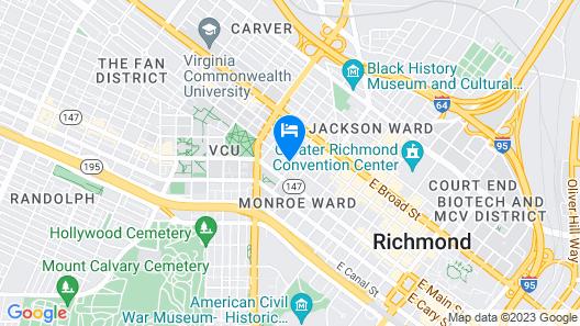 Graduate Richmond Map