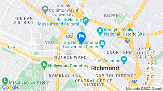 Broadstreet Condos by Barsala Map