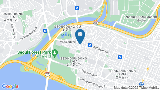 SEOUL FOREST STAY - Hostel Map