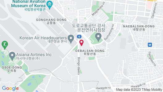 MAYFIELD HOTEL SEOUL Map