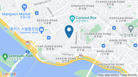 Mamas and Papas Guesthouse and Apartments in Seoul Map