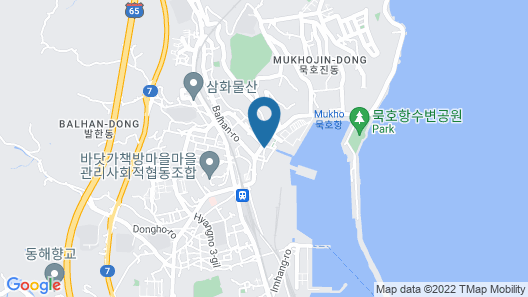 Sol Guesthouse Donghae - Hostel Map