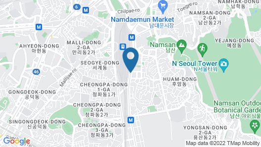 Four Points by Sheraton Seoul Station Map