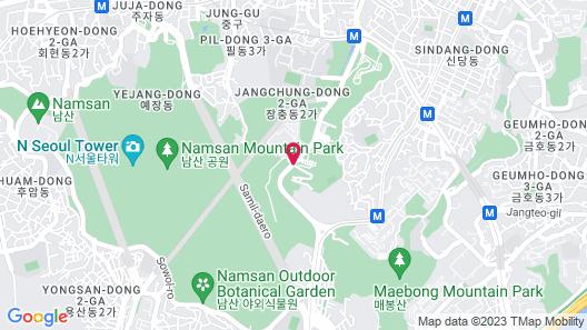 Banyan Tree Club & Spa Seoul Map