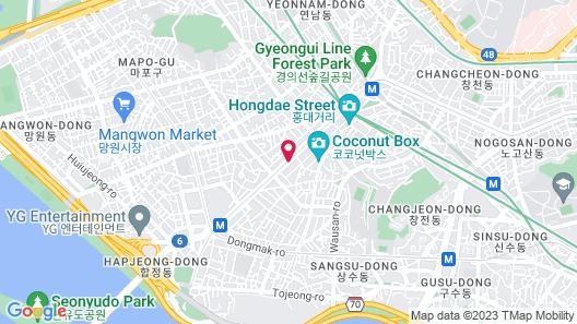 Marigold Hotel Map
