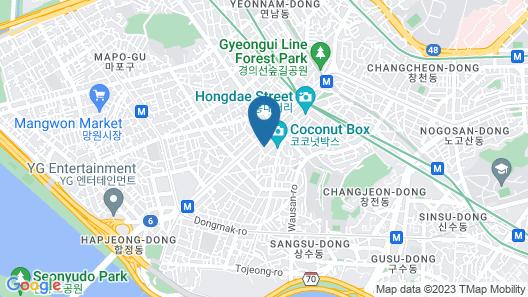 9 Brick Hotel Map