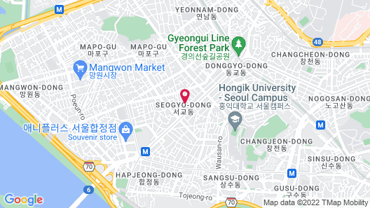 neat house hongdae Map