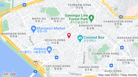 Neo Seoul Guesthouse Map