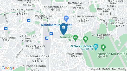 Millennium Hilton Seoul Map