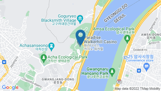 Grand Walkerhill Seoul Map
