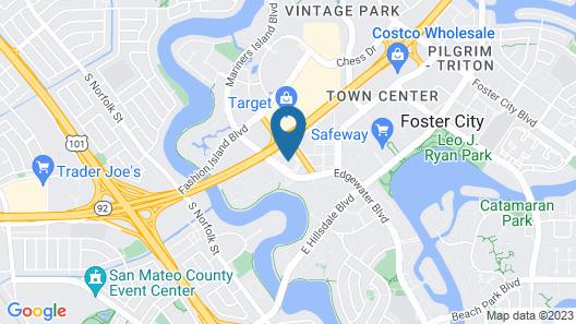 Residence Inn by Marriott San Francisco Airport/ San Mateo Map