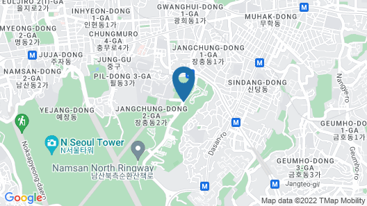 The Shilla Seoul Map