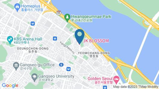 JK Blossom Hotel Map