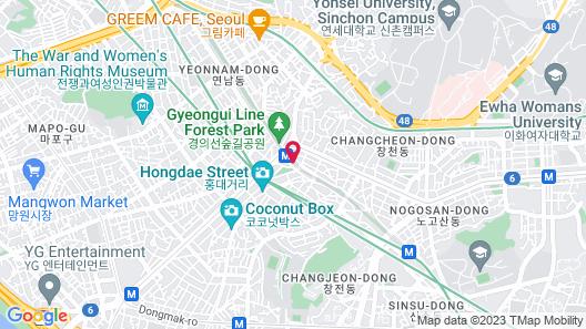 Holiday Inn Express Seoul Hongdae, an IHG Hotel Map