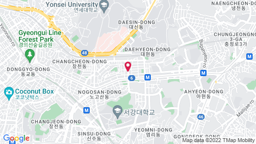 Shinchon Ever8 Serviced Residence Map