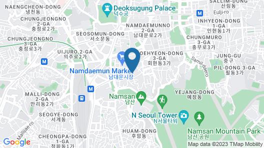 Lumia Hotel Myeongdong Map
