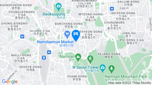 Daeyoung Hotel Seoul Map