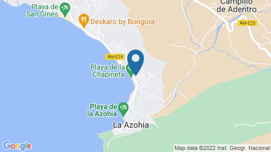Stunning Home in La Azohia With 2 Bedrooms Map