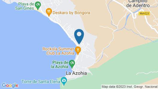 2 Bedroom Accommodation in La Azohia Map