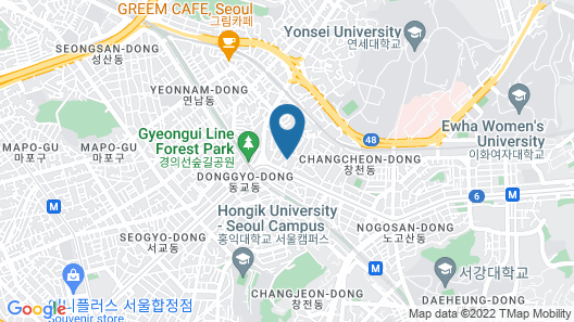 BoA travel house Map