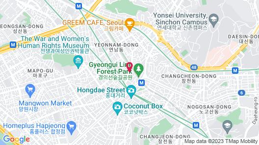 ORBIT Cafe & Guesthouse - Hostel Map