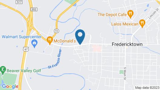 Madison Inn Lodge Map