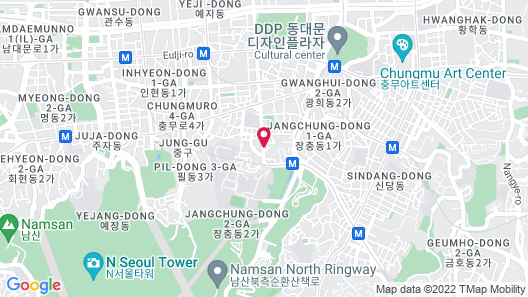 Grand Ambassador Seoul associated with Pullman Map