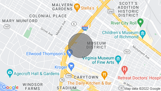 1 Bedroom Apartment 24 hr Fitness Center & Pool - Museum District Map