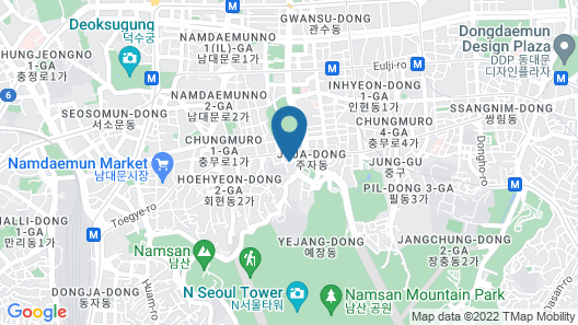 NAMSAN FOREST CITY Map
