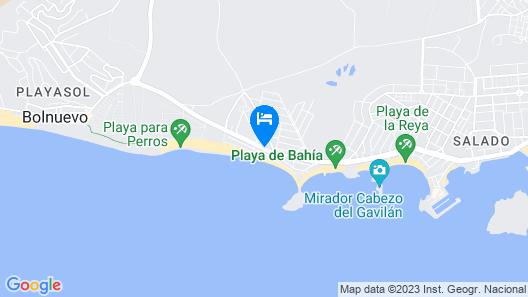 Hotel Playa Grande Map