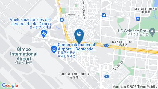 Royal Square Hotel Seoul Map