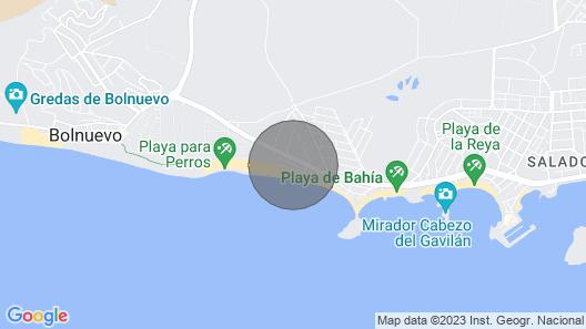 Casa Primera Línea de Playa con Amplia Terraza Map
