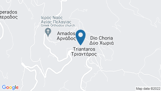 Aeolis Tinos Suites Map