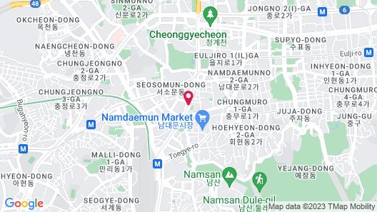 Fraser Place Namdaemun Map