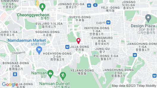 ibis Styles Ambassador Seoul Myeongdong Map