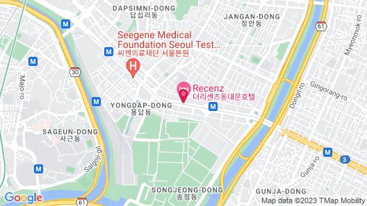 THE RECENZ Dongdaemun Hotel Map