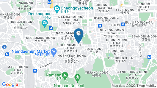 K-Grand Hotel Myeongdong Map